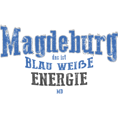 magdeburg blau weiße  - 321 - weiß,fcm,enercon,blau,Ost,Magdeburg,Fußball Club,Energie,Derby