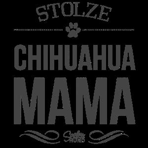 Stolze Chihuahua-Mama