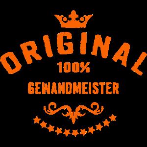Original 100 Prozent Gewandmeister - RAHMENLOS Beruf Arbeit Job Design Geschenke