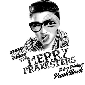 The Merry Pranksters Standard - Black T-Shirt