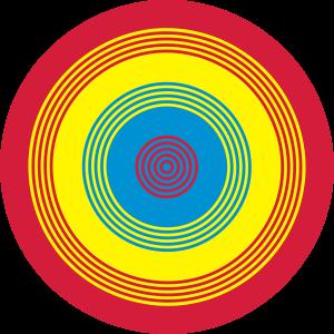 Rainbow Circle Vektor