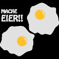 Mache Eier