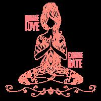 Yoga Einatmen Ausatmen Geschenk Yogi Entspannen