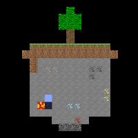 Minecraft World Querschnitt