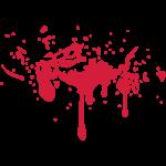 Blut Splatter