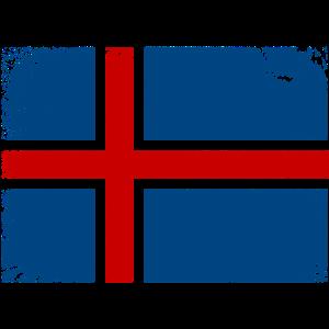 ISLAND VINTAGE FLAGGE