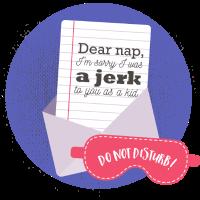 Dear nap -Typografie