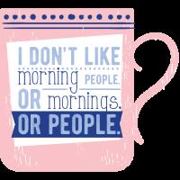 Morgenmensch Morgen, Menschen Morgenmuffel