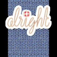 Alright - Summerdesign und Typografie