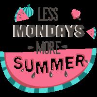Less Mondays-Typografie