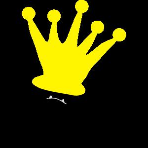 Monster Smuffel Prinz mit Krone