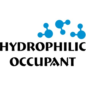 Hydrophilic Occupant (2 colour vector)