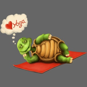 Love-Yoga Turtle