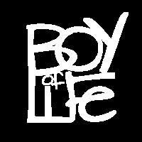 Boy of Life Logo white