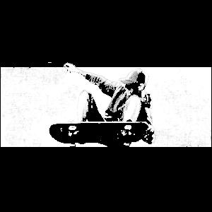 Skateboard Grafik für Skateboarder
