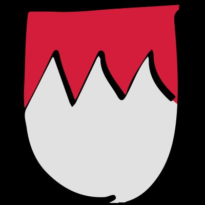 Frankenrechen - Das Frankenwappen mit Rechen. Nur für echte Franken - würzburg,wunsiedel,unterfranken,oberfranken,nürnberg,mittelfranken,hof,hochfranken,fränkisch,fichtelgebirge,deutschland,deutschland,bayrisch,bayreuth,bayern,bayerisch,bamberg,Franken