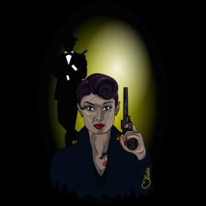 Agentin Waffe