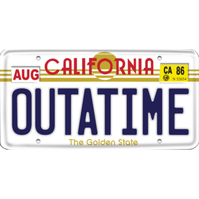Back to the Future - Back to the Future - Outatime - zurück in die zukunft,outatime,movie,kult,future,film,back to the future,back