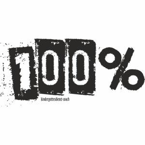100Prozent schwarz