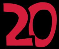 20. Geburtstagsshirt: 20