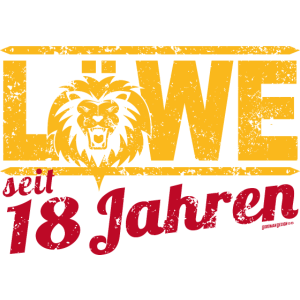 Löwe seit 18 Jahren