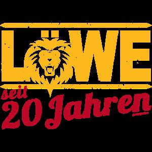 Löwe seit 20 Jahren