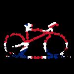 GB Cycling Chain Print