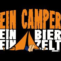 Ein Camper