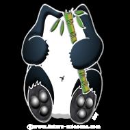 Motif ~ panda_tblanc