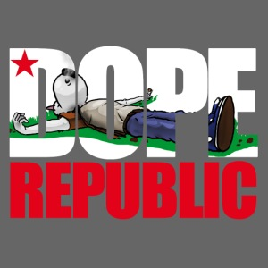Dope Republic (Girlz Tank Top) - dark gray