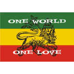 One world - one love Reggae