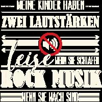 Lautstärke - Rock Musik