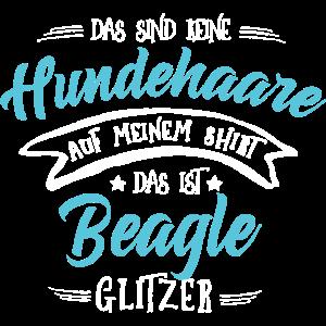 Glitzer Beagle Shirt