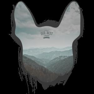 Bully Hills - Französische Bulldogge Silhouette