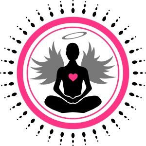 Ange position méditation