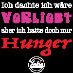 Verliebt Hunger