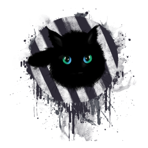 cat on canvas