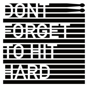 hit hard design black