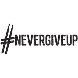 nevergiveup black