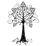 arbre phare noir