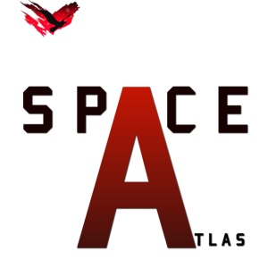 Space Atlas Baseball Long Sleeve Capital A