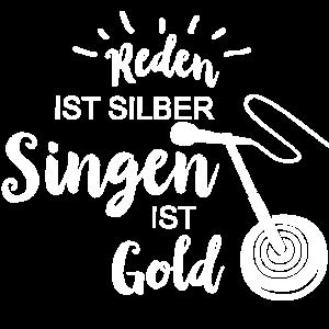 Singen ist Gold