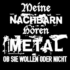 Nachbarn hören Metal