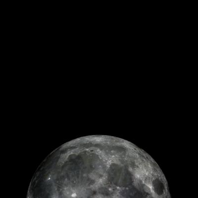 La Lune - So schön die Sprache Französisch Mond selbst. Wir bejubeln die beide mit diesem erstaunlichen Druck. - La lune,Mond,dunkler Druck