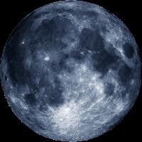 T-Shirt Blue Moon Men