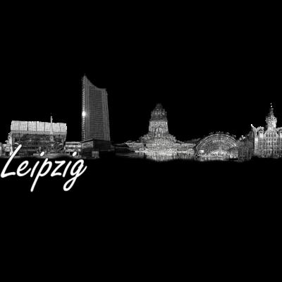 Skyline von Leipzig - SKyline von Leipzig Abstrakt in Szene gesetzt. - Völkerschlachtdenkmal,Skyline,Leipzig