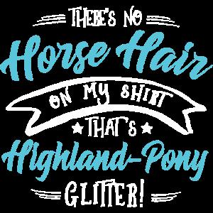 Glitter Highland-Pony