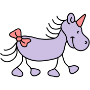 Sweet little unicorn
