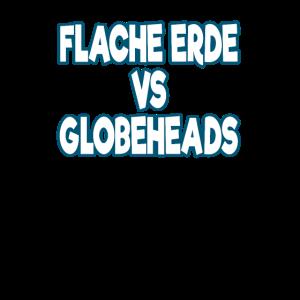 flache vs globe