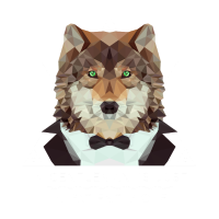 Low Poly Wolf Gentleman